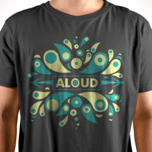 "Aloud – ""Eruption"" (Unisex, Gray)"