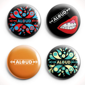 Aloud Button Set